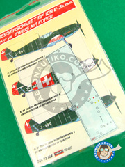 Kora Models: Decals 1/72 scale - Messerschmitt Bf 109 E-3