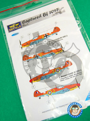 LF Models: Decals 1/48 scale - Messerschmitt Bf 109
