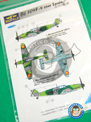 LF Models: Decals 1/48 scale - Messerschmitt Bf 109 F-9