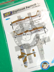 LF Models: Decals 1/48 scale - Focke-Wulf Fw 190 Würger F