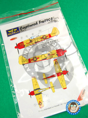 LF Models: Decals 1/72 scale - Focke-Wulf Fw 190 Würger F