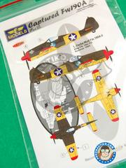 LF Models: Decals 1/72 scale - Focke-Wulf Fw 190 Würger A