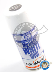 Mr Hobby: Primer - Mr. Base White 1000 - 180 ml - Spray - for all paints and kits