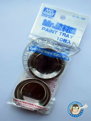 Mr Hobby: Tools - Mr. Paint tray - metal parts - 10 units image