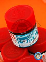 Mr Hobby: Acrylic paint - Aqueous Hobby Color - Clear Red - 10ml
