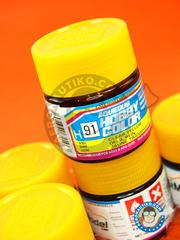 Mr Hobby: Acrylic paint - Aqueous Hobby Color - Clear Yellow - 10ml