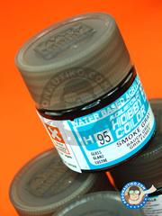 Mr Hobby: Acrylic paint - Aqueous Hobby Color - Smoke Grey - 10ml