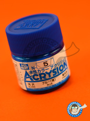 Mr Hobby: Acrysion Color paint - Blue gloss image
