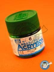 Mr Hobby: Acrysion Color paint - Green gloss