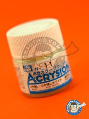 Mr Hobby: Acrysion Color paint - Flat white