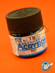 Mr Hobby: Acrysion Color paint - Steel