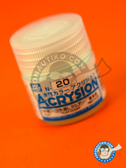 Mr Hobby: Acrysion Color paint - Flat clear