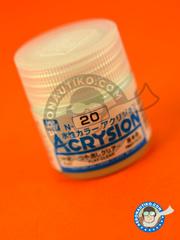 Mr Hobby: Acrysion Color paint - Flat clear