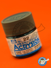 Mr Hobby: Acrysion Color paint - Neutral gray