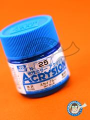 Mr Hobby: Acrysion Color paint - Sky Blue