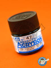 Mr Hobby: Acrysion Color paint - Red Brown image
