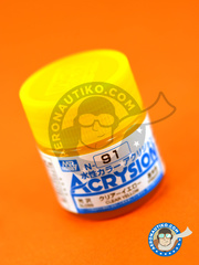 Mr Hobby: Acrysion Color paint - Clear yellow