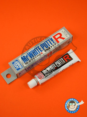 Mr Hobby: Putty - Mr. White putty R low viscosity