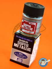 Mr Hobby: Mr Color Super Metallic Paint - Fine Silver image