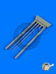 Quickboost: Pitot tube 1/48 scale - Sukhoi Su-9 Fishpot - resin - for Trumpeter kit image