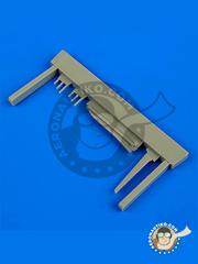 Quickboost: Antenna 1/48 scale - Sukhoi Su-9 Fishpot - resin - for Trumpeter kit image