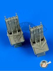 Quickboost: Seat 1/48 scale - North American B-25 Mitchell - resins - for Academy reference 12302 image