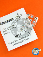 Renaissance Models: Lights - Round focus 5mm  - other materials - 15 units