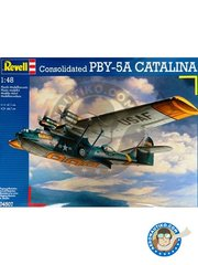 Revell: Airplane kit 1/48 scale - Consolidated PBY-5A Catalina - Labrador, 1948 (US0); 1948 (US0) - different locations - plastic parts, water slide decals and assembly instructions