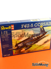 Revell: Airplane kit 1/72 scale - Vought F4U Corsair F4U-5 - Guadalcanal - plastic model kit
