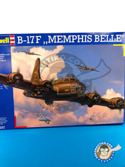 Revell: Airplane kit 1/48 scale - Boeing B-17 Flying Fortress F - Guadalcanal - plastic model kit