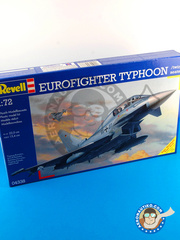 Revell: Airplane kit 1/72 scale - Eurofighter Typhoon EF-2000 Two seater - plastic model kit