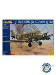 Revell: Airplane kit 1/48 scale - Junkers Ju 52 - Guadalcanal