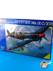 Revell: Airplane kit 1/48 scale - Supermarine Spitfire IXc / XVI - plastic model kit