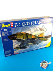 Revell: Airplane kit 1/48 scale - McDonnell Douglas F-4 Phantom II C / D - plastic model kit