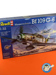 Revell: Airplane kit 1/32 scale - Messerschmitt Bf 109 G-6 - Luftwaffe (DE2) 1944 and 1945 - plastic model kit image