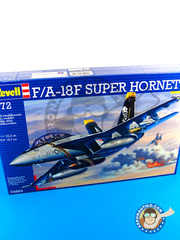 Revell: Airplane kit 1/72 scale - McDonnell Douglas F/A-18 Hornet F Super Hornet - plastic model kit