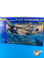 Revell: Airplane kit 1/48 scale - Republic P-47 Thunderbolt N - Guadalcanal - plastic model kit
