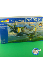 Revell: Airplane kit 1/32 scale - Focke-Wulf Fw 190 Würger F-8 - Luftwaffe (DE2) 1945 - plastic model kit