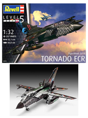 Revell: Airplane kit 1/32 scale - Panavia Tornado ECR - Luftwaffe (DE0) - 15th Wing Spanish Air Force 2014 - plastic model kit image
