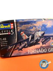 Revell: Airplane kit 1/48 scale - Panavia Tornado GR. 4 - RAF (GB1) - different locations - plastic model kit image