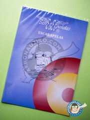 Series Españolas: Model kit - Spanish Air Force Marking - water slide decals - for all kits