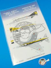 Series Españolas: Marking / livery 1/32 scale - McDonnell Douglas F-4 Phantom II C - Fuerza Aérea Española (ES0) - water slide decals and placement instructions