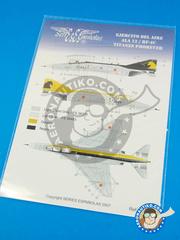 Series Españolas: Decals 1/72 scale - McDonnell Douglas F-4 Phantom II C - Fuerza Aérea Española (ES0) - for Italeri kit 1373