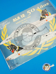 Series Españolas: Marking / livery 1/48 scale - McDonnell Douglas F/A-18 Hornet A - Torrejón (ES0) - Torrejon Air Station - water slide decals and placement instructions