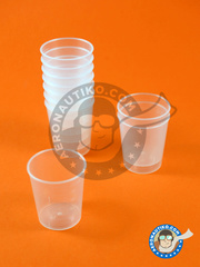 Aeronautiko: Tools - Paint cup for mixing and measuring - 10 units
