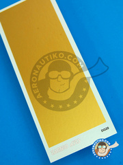 Tameo Kits: Decals - 45 x 120 mm Gold