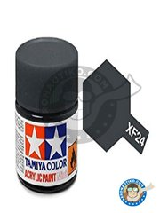 Tamiya: Acrylic paint - Dark Grey XF-24 - for all kits