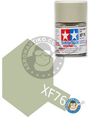 Tamiya: Acrylic paint - Gray Green ( IJN ) XF-76 - for all kits