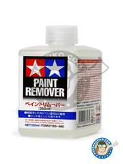 Tamiya: Paint remover - Paint remover - 250ml jar - for all paints