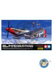 Tamiya: Airplane kit 1/32 scale - North American P-51 Mustang - Marine Corps Air Station Cherry Point, North Carolina (US7) - Ukranian